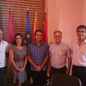 La diputada de Ciudadanos (C's) Guadalajara, Yolanda Ramírez, asiste a la Jornada de Proyecto de Desarrollo Rural de ADAC