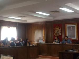 Sesión de Pleno en el Ayuntamiento de Azuqueca de Henares