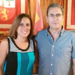 La Diputada de Ciudadanos (C's) Guadalajara visita las localidades de Berninches y Fuentelaencina