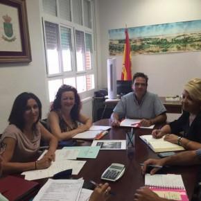 La diputada provincial de Ciudadanos (C's) comienza en Galápagos la ronda de contactos con los ayuntamientos de Guadalajara