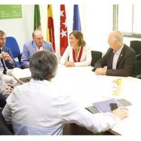 La Diputada Provincial por C's Guadalajara asiste a un encuentro en Boadilla del Monte para conocer el sistema de gestión telemática de este Ayuntamiento