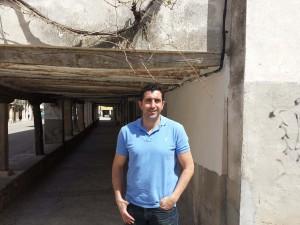 Carlos Morales, portavoz de Ciudadanos (C's) en el Ayuntamiento de Tendilla