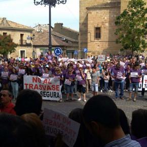 Ciudadanos (C's) Guadalajara participa en la concentración por la mejora del acuerdo de trasvase Tajo-Segura
