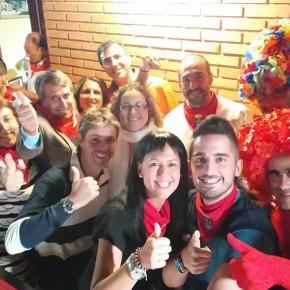 C's Azuqueca recibe al Delegado Territorial de Castilla-La Mancha, Antonio López, y a la Diputada Provincial, Yolanda Ramírez, en un intenso arranque de las fiestas de la localidad