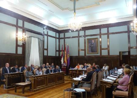 Sesión plenaria de la Diputación Provincial de Guadalajara