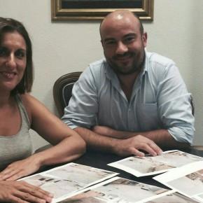 La Diputada Provincial por Ciudadanos Guadalajara, Yolanda Ramírez, se reúne con el Alcalde de Viana de Jadraque