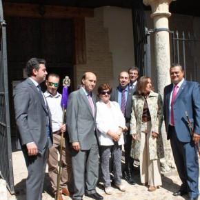 Yolanda Ramírez asiste a los actos principales de las fiestas de Valdeaveruelo y El Casar