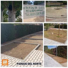 Ciudadanos (C's) propone mejoras en el Parque del Norte de Azuqueca de Henares