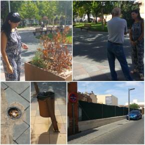 Ciudadanos (C's) Azuqueca solicita al Equipo de Gobierno un mayor mantenimiento de la significativa Plaza General Vives