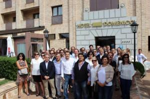 Miembros de Ciudadanos (C's) Castilla-La Mancha llegados desde las cinco provincias