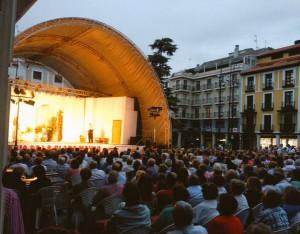 Teatro en la Plaza Mayor