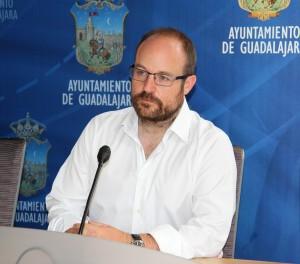 Alejandro Ruiz, portavoz de C's Guadalajara