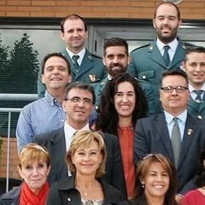 Ciudadanos (C's) El Casar-Mesones asiste a los actos institucionales en el Día de la Hispanidad