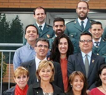 Los Ediles de Ciudadanos (C's) El Casar-Mesones y Guillermo Rodríguez, Alcalde de Galápagos por esta formación.