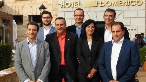 Comité Territorial de C's Castilla-La Mancha con Antonio López al frente.