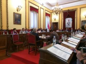 Pleno ordinario del Ayuntamiento de Guadalajara