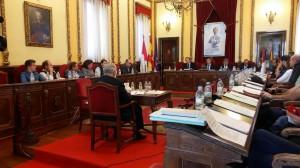 Sesión plenaria de este viernes en el Ayuntamiento de Guadalajara