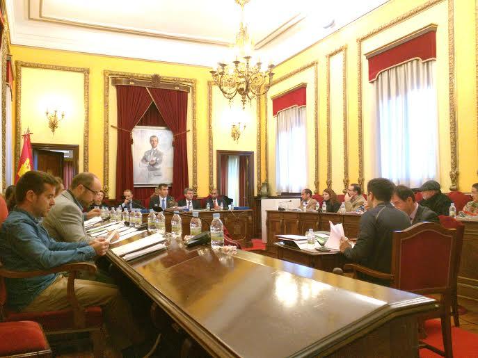 Pleno del Ayuntamiento de Guadalajara - 27.11.15