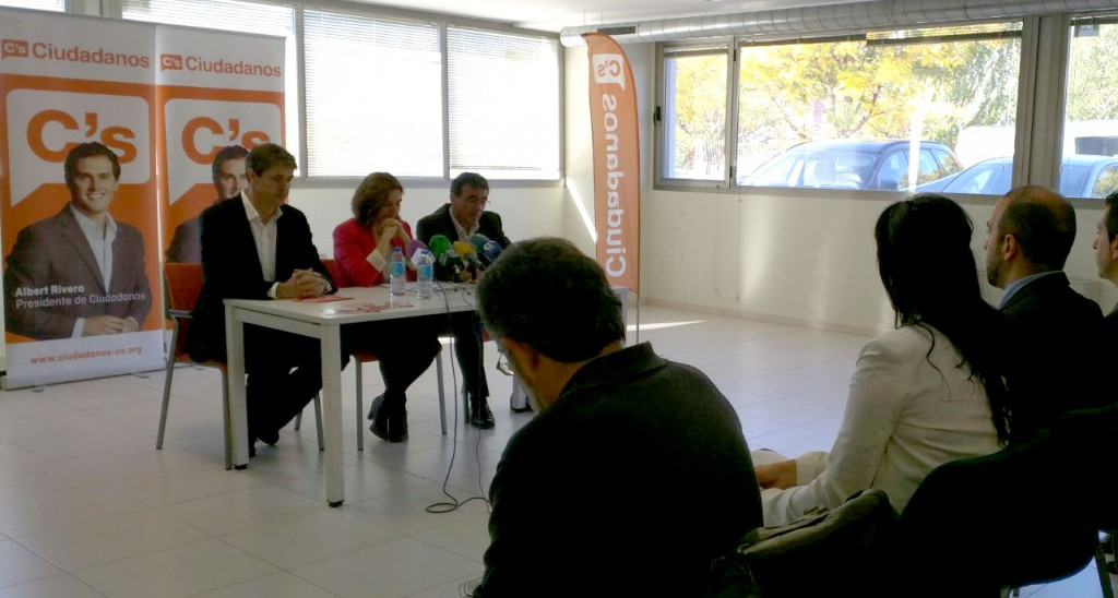 Presentación de la candidatura de C's para las elecciones generales del 20 de diciembre