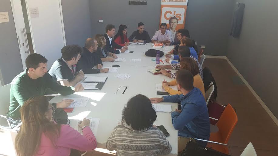 Comité de campaña de Ciudadanos (C's) Guadalajara para las Elecciones Generales 2015