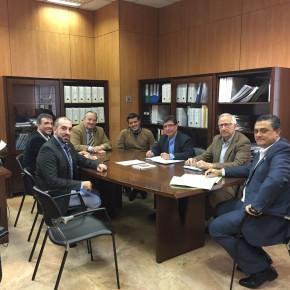 C's El Casar Mesones y Valdeaveruelo asisten a una reunión con la Agencia del Agua regional para mejorar precios y representatividad en la MAS