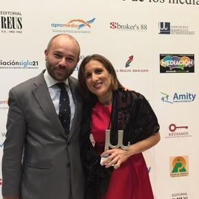 La Diputada Yolanda Ramírez, premiada por la Junta Directiva de la Asociación Madrileña de Mediadores – AMM