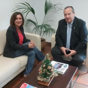 La Diputada Yolanda Ramírez evalúa con el Alcalde de El Casar-Mesones los temas relativos a Diputación así como el acuerdo de investidura local entre C's y PP