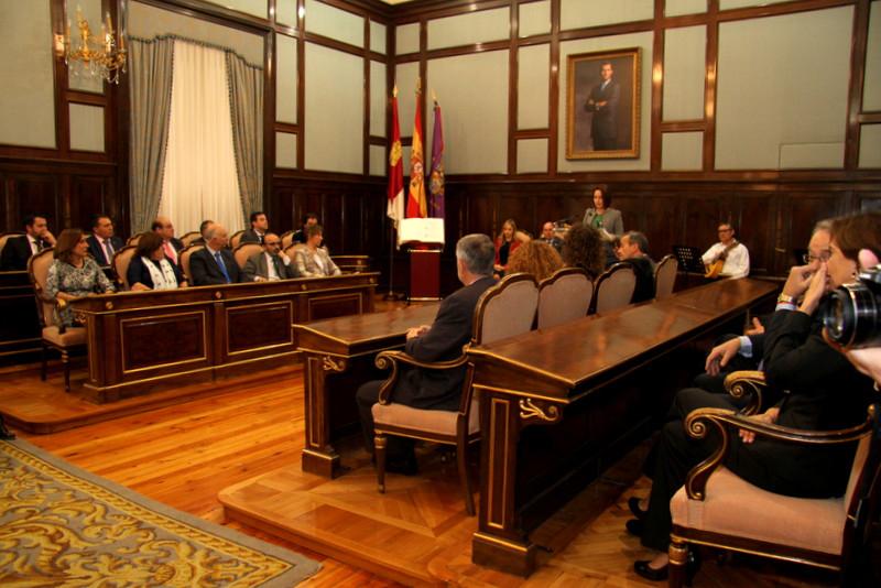 Salón de Plenos de la Diputación Provincial de Guadalajara