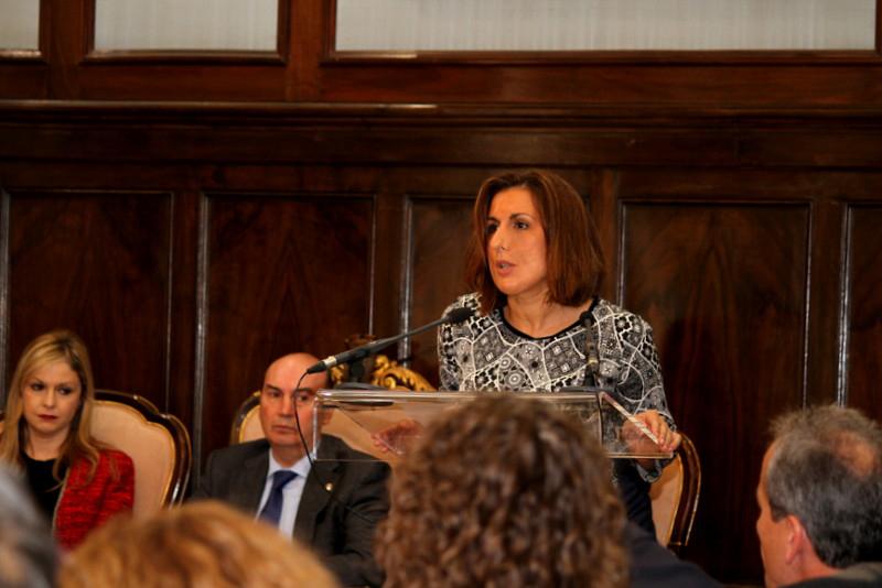 Yolanda Ramírez, diputada provincial de Ciudadanos (C's)