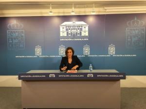 Yolanda Ramírez, Portavoz de C's en la Diputación Provincial.
