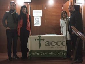 De izq. a dcha.: Aitor Varela, Silvia García, Yolanda Ramírez y Antonio de Lamo.