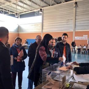 Ciudadanos (C's) alcanza el apoyo del 20% de los sufragios de Azuqueca en las Elecciones Generales