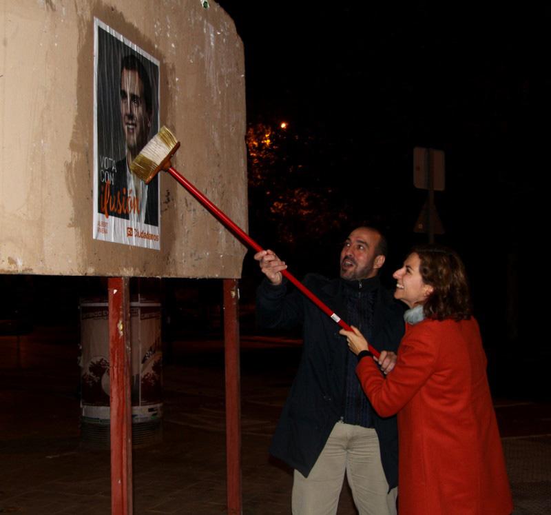 Orlena de Miguel y Antonio de Lamo, candidatos al Congreso