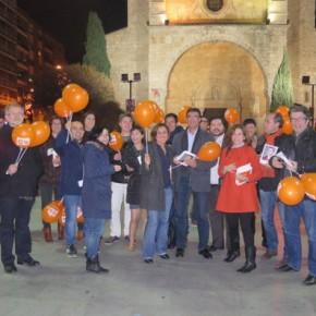 """Orlena de Miguel (C's): """"Tenemos una oportunidad única de acabar con el bipartidismo en Guadalajara"""""""