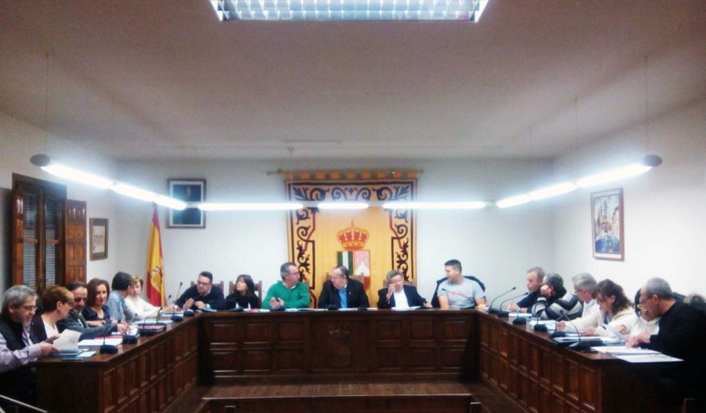 Sesión Plenaria del Ayuntamiento de El Casar-Mesones.