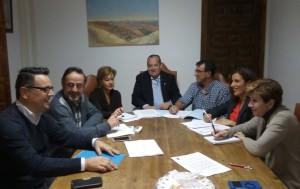 Reunión del Equipo de Gobierno y C's El Casar-Mesones.