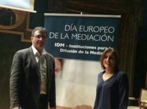 Juan Gordillo y Yolanda Ramírez, durante el Congreso.