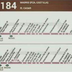 El Casar-Mesones cuenta ya con la ampliación de horarios de la línea de autobús 184 impulsada por C's y el Equipo de Gobierno