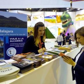 Orlena de Miguel (C's), diputada nacional por Guadalajara, anima desde FITUR a visitar nuestra provincia