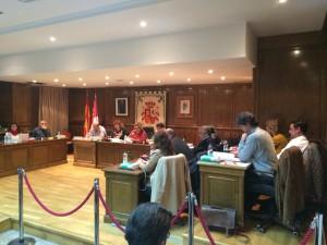 Pleno del Ayuntamiento de Alovera.