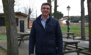 Juan Gordillo, Portavoz de C's El Casar-Mesones en la chopera de Mesones.