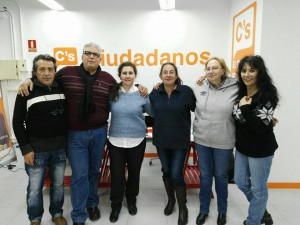 Miembros de la Agrupación Local de C's El Casar-Mesones