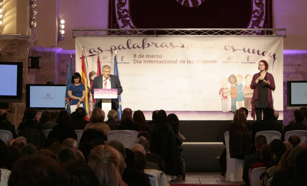 Acto del Día Internacional de la Mujer en Cifuentes.