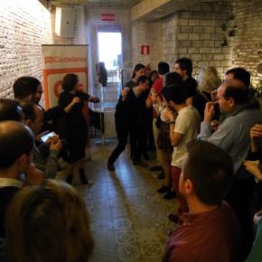 Ciudadanos (C's) reune a afiliados y simpatizantes en Guadalajara