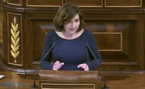 Orlena de Miguel en el Congreso de los Diputados