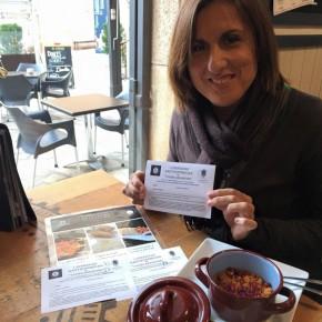 La Diputada Provincial Yolanda Ramírez se interesa por Viana de Jadraque y visita Sigüenza durante las 'I Jornadas de la cocina seguntina'