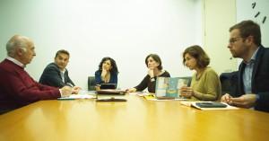 Orlena de Miguel reunida con FIAPAS