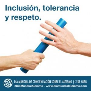 Cartel de la campaña de promoción del Día Mundial de Concienciación sobre el Autismo