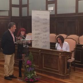 Yolanda Ramírez participa en la lectura de 'Viaje a la Alcarria' en los actos de la Diputación Provincial con motivo del Día de Libro