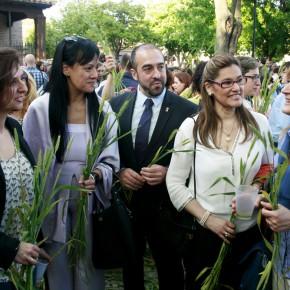 Ciudadanos (C's) Guadalajara celebra la 'Fiesta de la Espiga' azudense, declarada de Interés Turístico Provincial